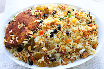 KERALA INDIAN FISH BIRYANI RECIPE