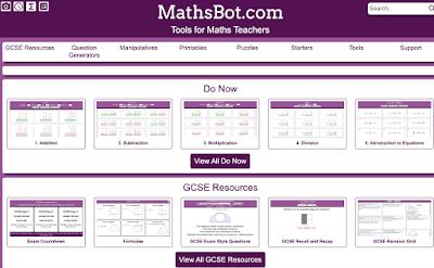 An Excellent Website That Offers Free Math Manipulatives and Tools for Teachers and Students