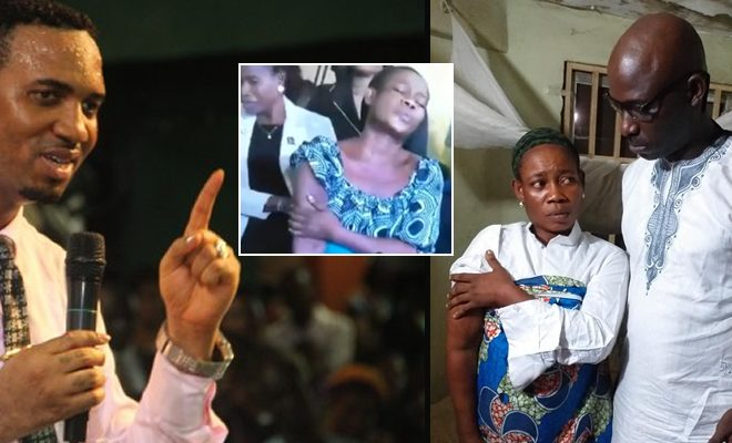 audio miracle lady used by pastors for same miracle found photos