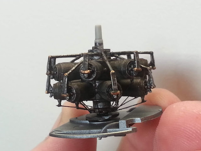 1/32 scale Radial engine from Wingnut Wings Fokker E.IV