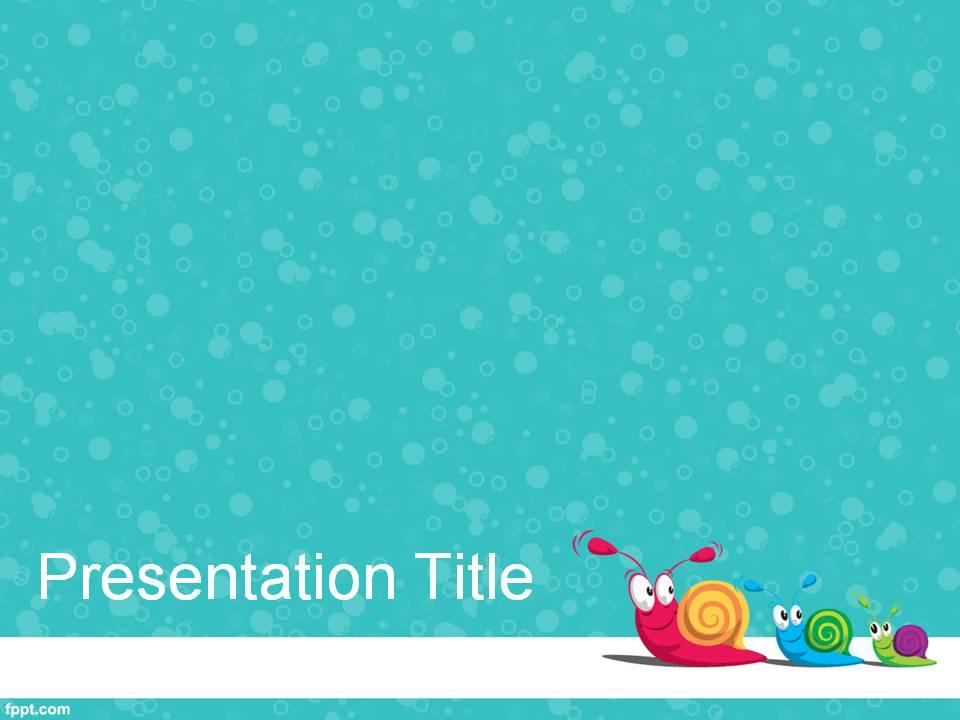 cute powerpoint template 6