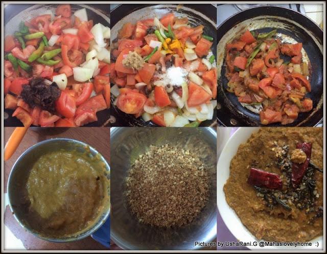 Mahaslovelyhome : Tomato Peanut Sesame Chutney | Tomato Palli Nuvvula ...