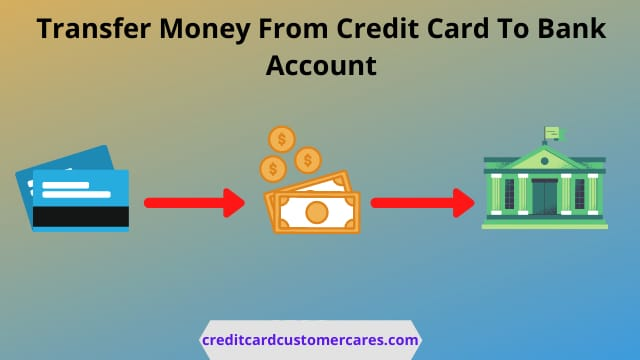 Transfer Money From Credit Card To Bank Account