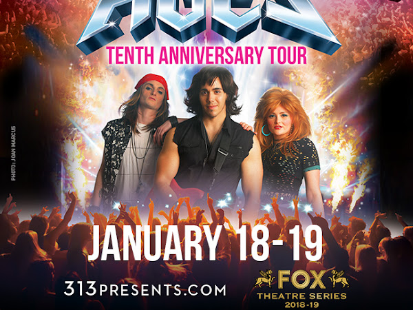 Coming to Detroit and Giveaway: Rock of Ages