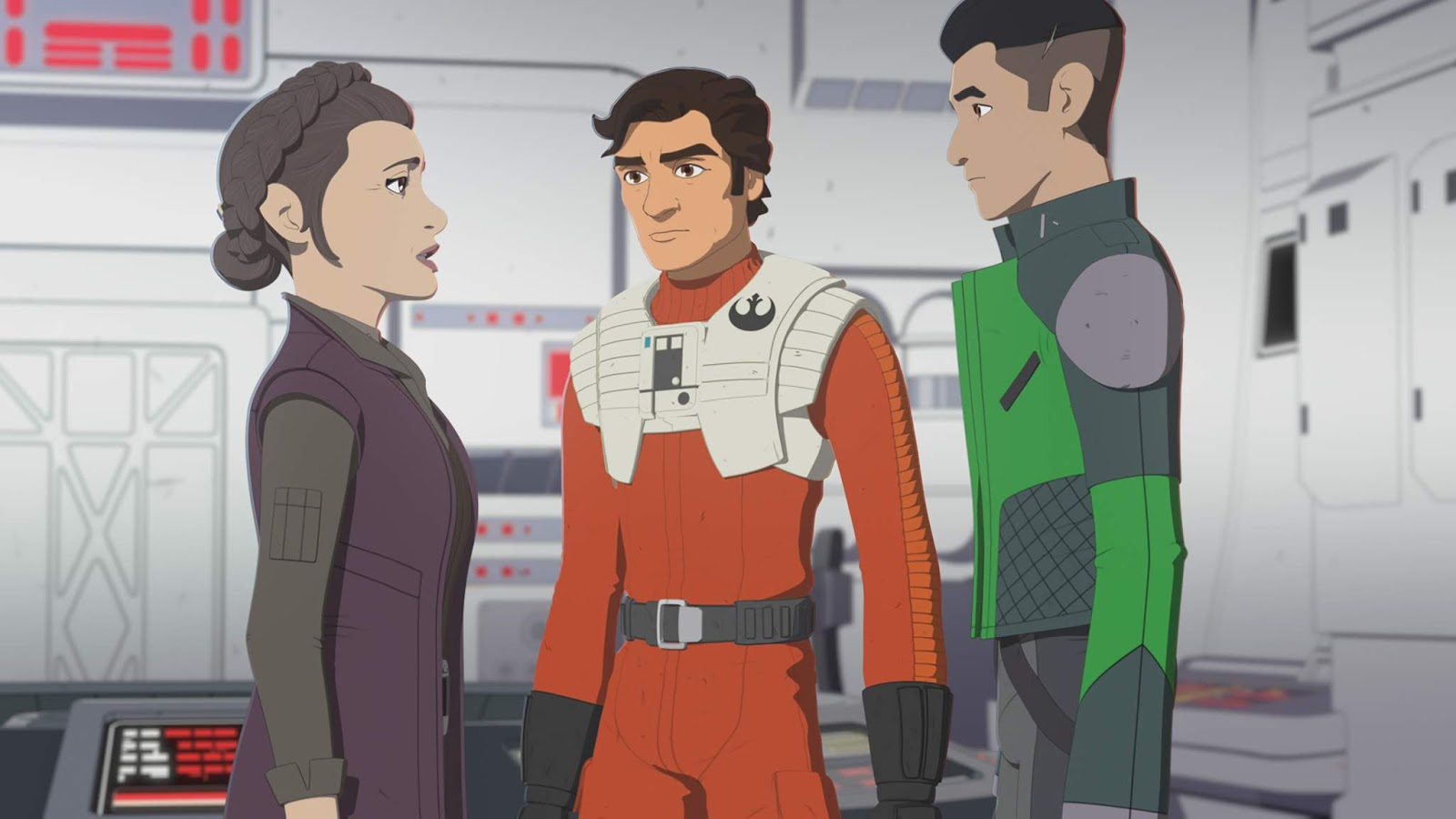Star Wars Resistance the first order