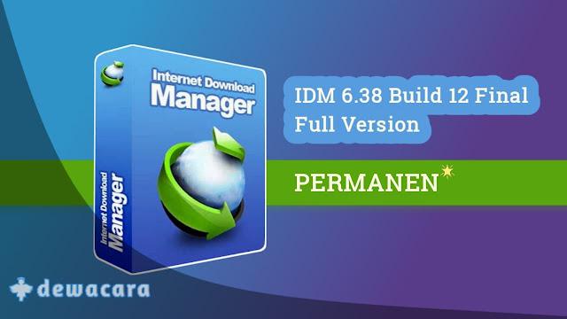 Internet download manager permanen