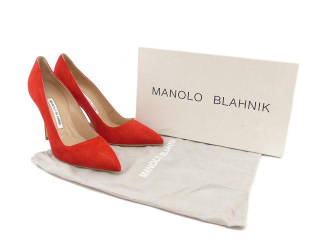 b5c30d0b1cb MANOLO BLAHNIK BB 105 RED SUEDE - Reed Fashion Blog