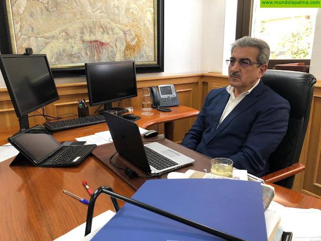 Rodríguez reclama al Estado un reparto equitativo del material sanitario contra el coronavirus entre todas las autonomías