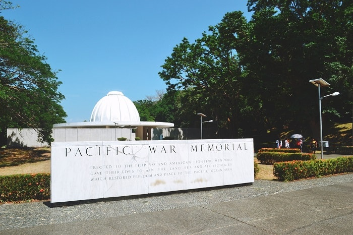 Pacific War Memorial at Corregidor Island