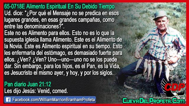 Es demasiado fuerte para ellos - William Branham en Español