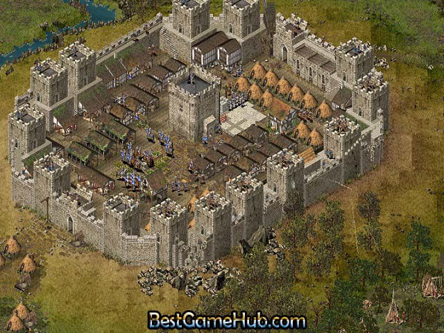 Stronghold 1 High Compressed PC Game Free Download