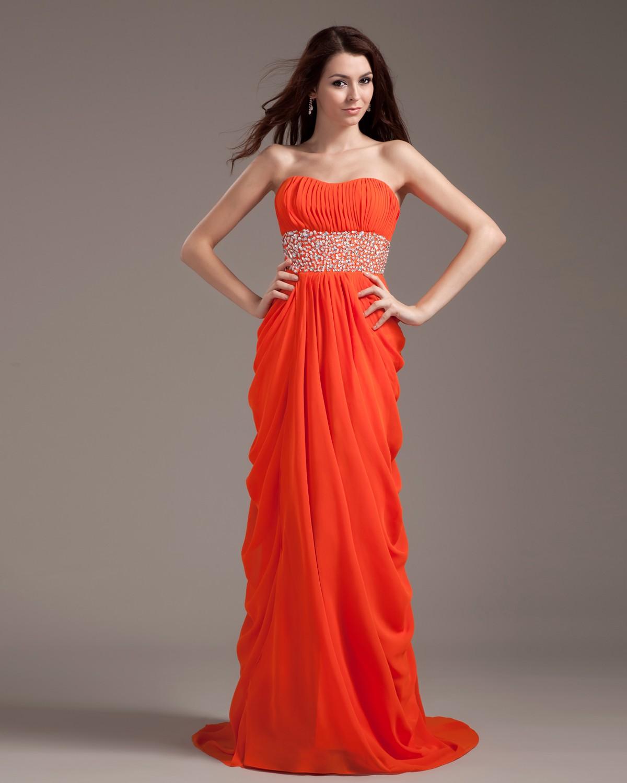 DressyBridal: 5 Amazing Red Strapless Prom Dresses——Glow