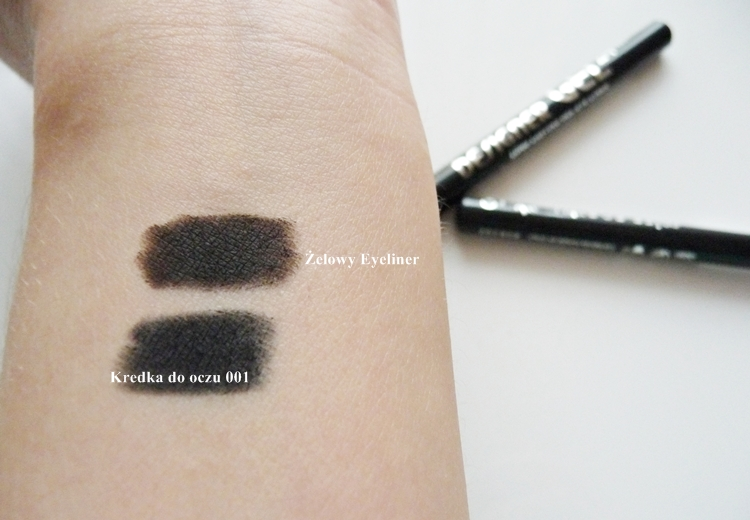 kredka do oczu i żelowy eyeliner Miss Sporty