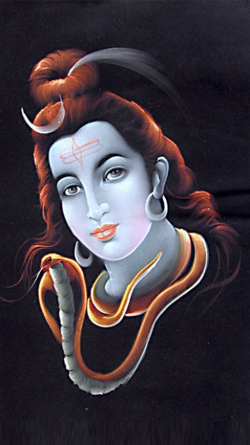Shiva Animated Wallpaper Magicmobi Devotional Mobile Wallpapers 360x640