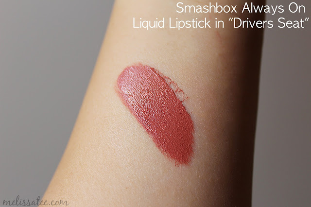 sephora favorites, sephora favorites give me more lip, sephora favorites give me more lip 2017, sephora favorites give me more lip 2017 review, sephora favorites give me more lip review and swatches, smashbox, smashbox always on liquid lipstick, smashbox always on liquid lipstick in drivers seat, smashbox always on liquid lipstick drivers seat swatches
