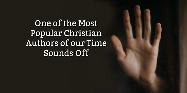 """One of the most popular """"Christian"""" authors of our time sounds off about the Cross."""