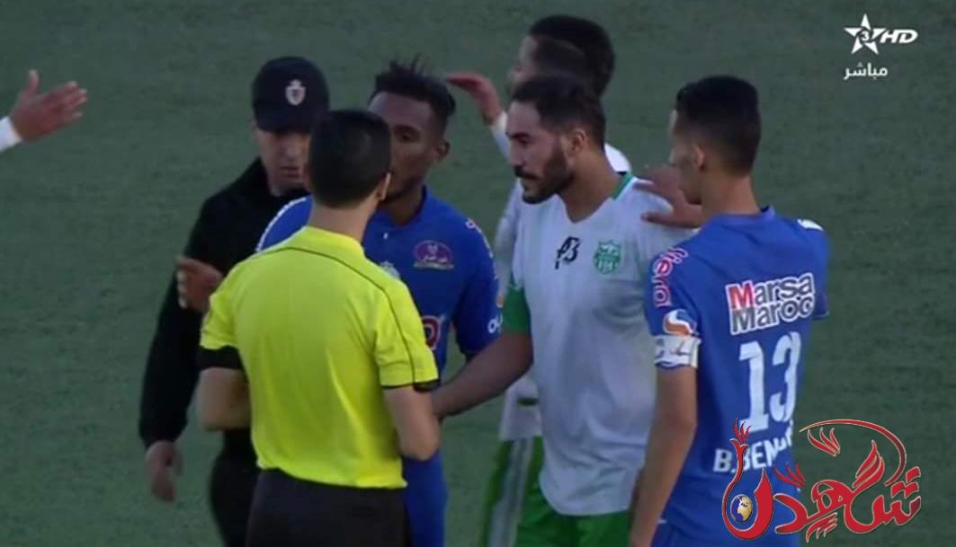 الرجاء البيضاوي يفوز على رجاء بني ملال، تقنية الفار في بطولة المحترفين المغربي