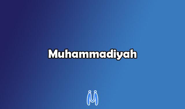 Muhammadiyah merupakan salah satu organisasi pergerakan nasional