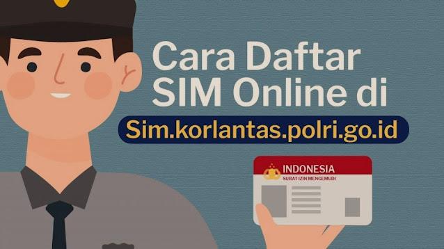 Membuat SIM Online