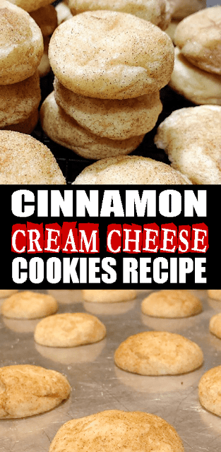 #CINNAMON CREAM CHEESE #COOKIES