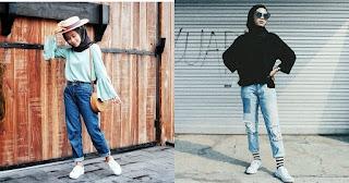 5 Gaya fashion Casual Hijaber