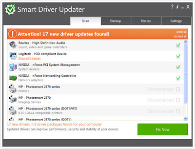 Screenshot Smart Driver Updater 4.0.8 Build 4.0.0.2012 Full Version