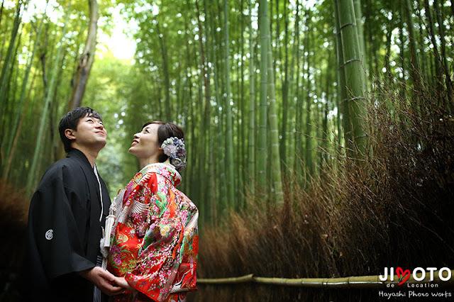 京都前撮りロケーション撮影|嵯峨野・嵐山・竹林