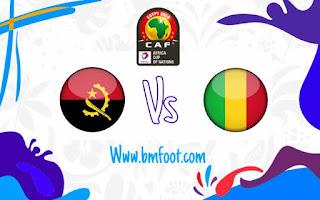 مباراة مالي و انغولا بث مباشر
