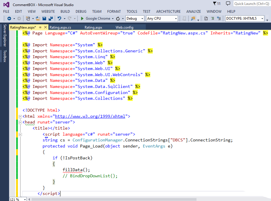 Using inline code in ASP NET (C# and VB Net) - Complete  Net Tutorial