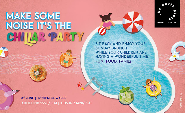 Hotel Sahara Star hosts a Themed based Sunday Brunch - Chillar Party.