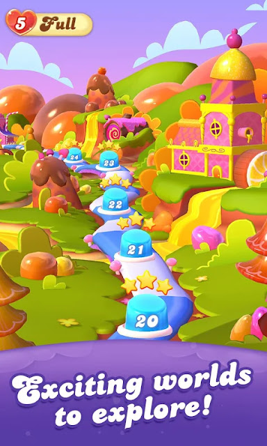 Download Candy Crush Friends Saga Mod Apk