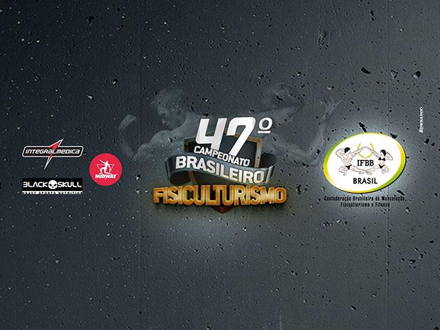 47° Campeonato Brasileiro de Fisiculturismo. Foto: Reprodução