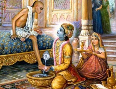 द्वापर युग के समय में कृष्ण भगवान और सुदामा के बीच में मित्रता बनी एक मिसाल  - newsonfloor.com
