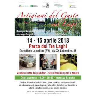 Artigiani del Gusto...sul lago 14-15 aprile Gravellona Lomellina (PV)