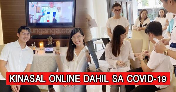 Dalawang ulit nang 'di natuloy ang kasalan ng magkasintahang ito, kaya nagpa-kasal sila Online