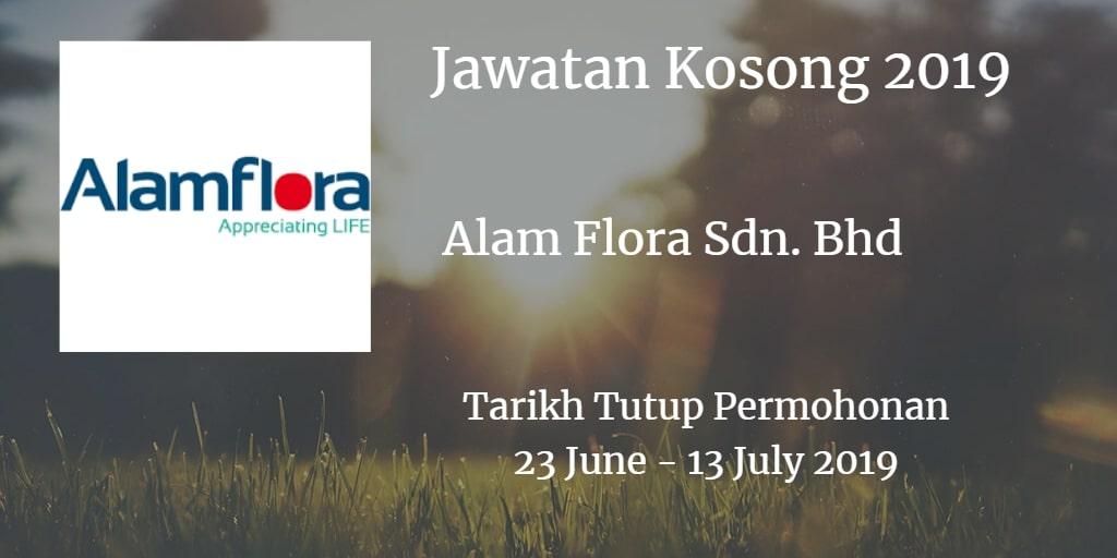 Jawatan Kosong Alam Flora Sdn. Bhd 23 June - 13 July 2019