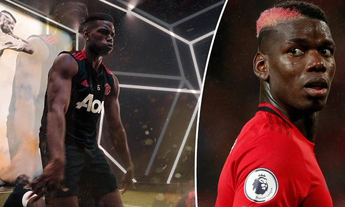 Paul Pogba 'Desperate' To Play For Manchester United As He Continues Recovery (Photos)