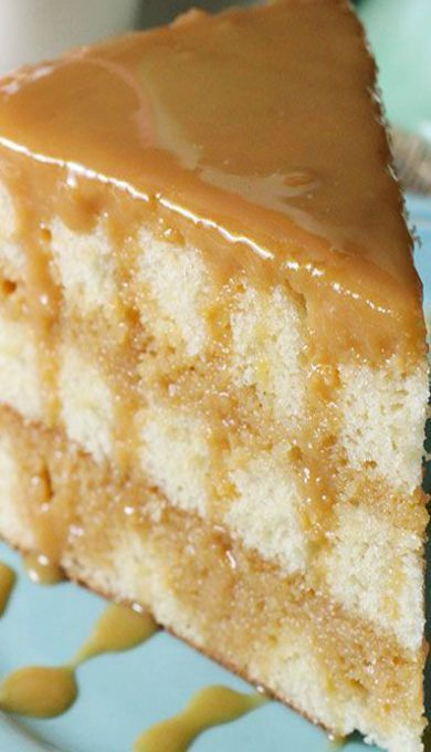 Real Deal Caramel Cake
