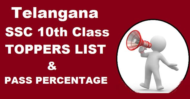 Telangana- TS- SSC- 10th-Class-Toppers- List- 2016