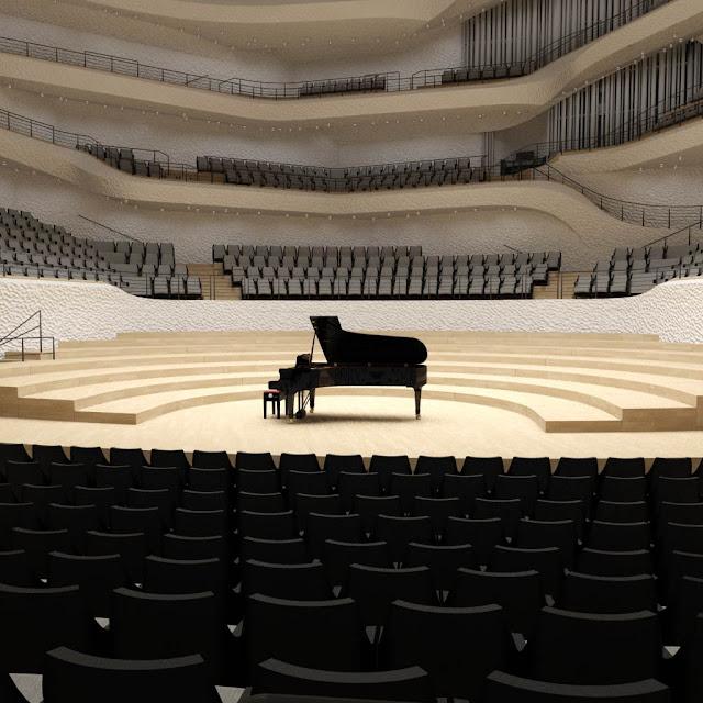 Die Sicht kann je nach der eigenen Sitzposition variieren , Elbphilharmonie Fotos, Elbphilharmonie bilder, Elbphilharmonie wallapaper