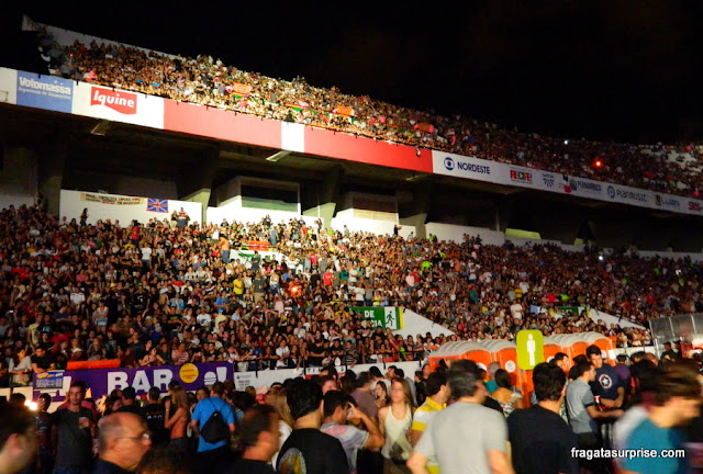 Show de Paul McCartney em Recife, abril de 2012