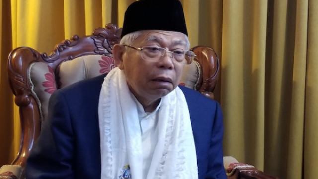 Ma'ruf Amin: Tidak Mau Pilih Saya, Silakan Pilih Jokowi
