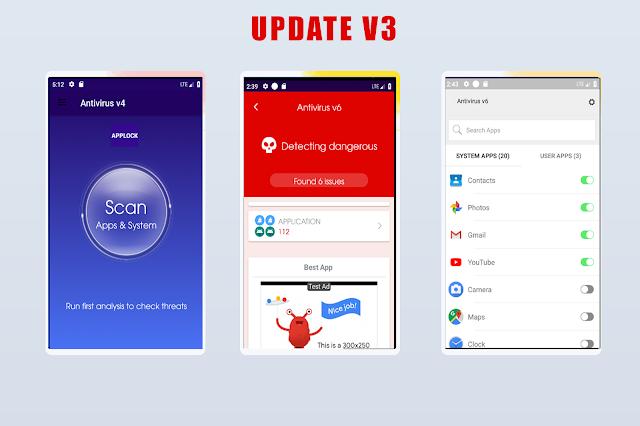 Antivirus + Applock + Booster + Cleaner ---update v3--- - 2