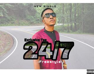 """Exclusive Tee - """"24/7"""""""
