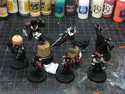 Horus Heresy Dark Angels Characters WIP