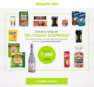 oferta degustabox otoño