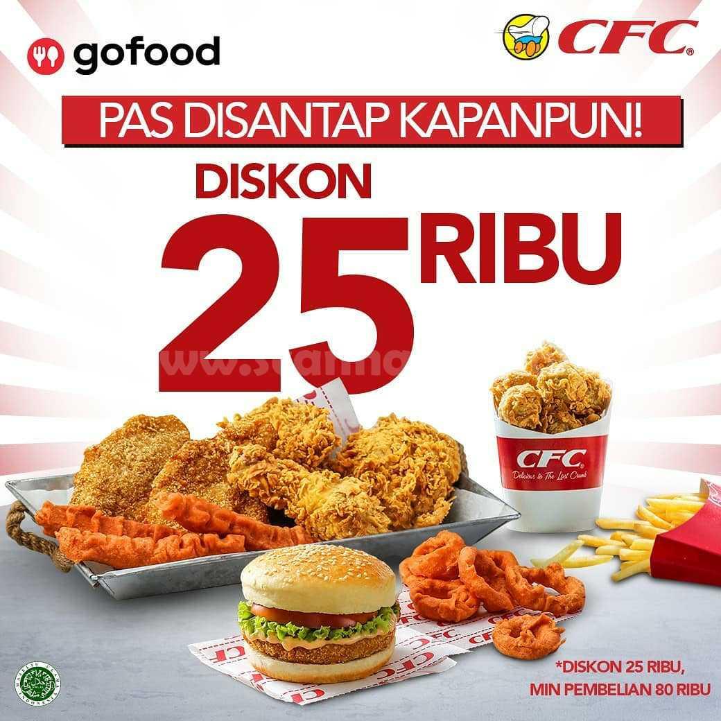 CFC Promo Diskon Rp 25.000 Pesan Online via GOFOOD