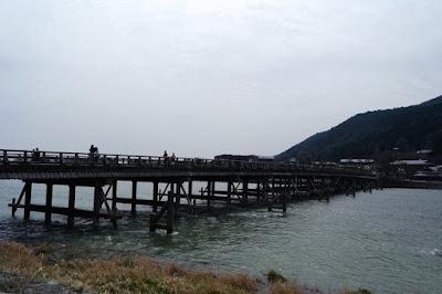 Togetsukyo Bridge at Arashiyama Kyoto