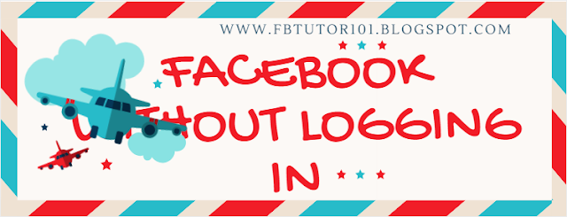 Facebook Without Logging In