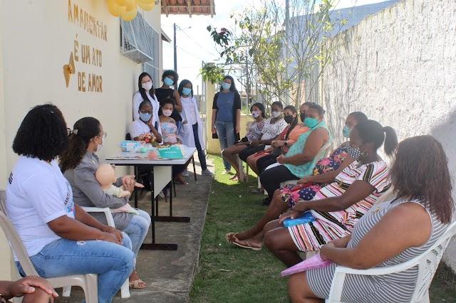 Agosto Dourado: campanha conscientiza sobre a importância do aleitamento materno